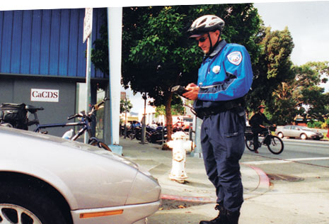 SFMTA parking enforcement officer