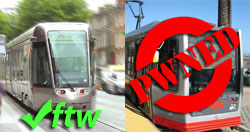 LRT Score Card - MUNI pwned, LUASftw