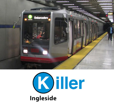 killer muni k ingleside