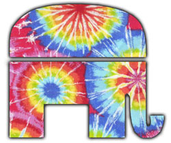 hippie elephant small