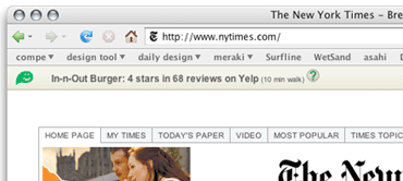 Meraki Toolbar