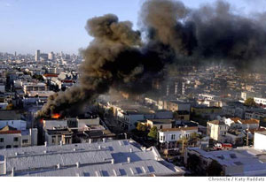 mission district fire