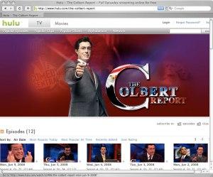 The Colbert Report on Hulu